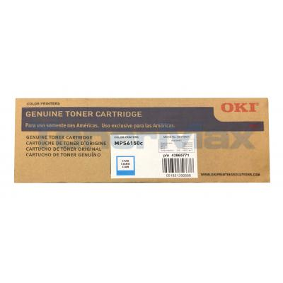 OKI MPS6150C TONER CYAN